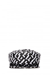 [관부가세포함][유지니아킴] SS19 여성 모자 헤어밴드 G(2120633119 WHITE BLACK)