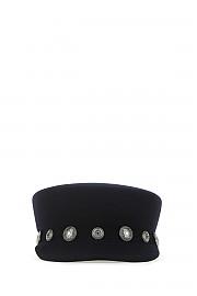 [관부가세포함][메종미셸] FW20 여성 모자 G(1108016002 NAVY)