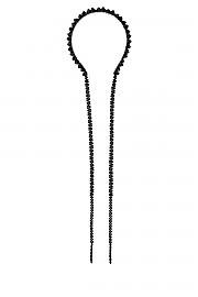 [관부가세포함][시몬로샤] FW20 여성 모자 헤어밴드 G(HB200903 JET)