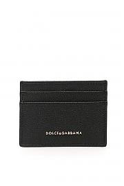 [관부가세포함][돌체앤가바나] (BI0330 AA899 80999) SS20 여성  grain leather cardholder