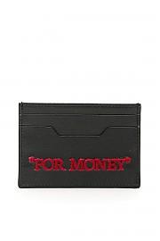 """[관부가세포함][오프화이트] (OWNC014S20LEA002 1032) SS20 여성 off- cardholder """"for money"""""""