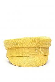 [관부가세포함][RUSLAN BAGINSKIY] (KPC088 STR YELLO) SS20 여성  straw baker boy hat