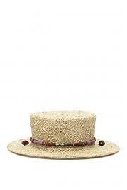 [관부가세포함][RUSLAN BAGINSKIY] (CNT036 STR TSD BRTST NTSTW) SS20 여성  straw boater hat