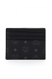 [관부가세포함][엠씨엠] (MXAAAVI02 BK) FW20 여성  visetos 카드 홀더