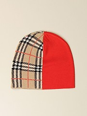 [관부가세포함][버버리] (8034337 A1460)  Winter 20 여성  hat in merino wool with tar jacquard motif