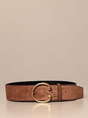[관부가세포함][셀린느] (45AQK3AC9 18CZ)  Winter 20 여성 belt women cEline leather