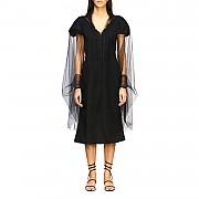 [관부가세포함][에르마노 설비노] (D362D301 UVE 95708)  Summer 20 여성 스카프 cape in sheer tulle