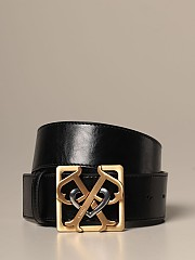 [관부가세포함][핀코] (1H20T9 Y5GB Z99)  Winter 20 여성  sonaglio belt in leather with double p buckle
