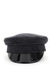 [관부가세포함][RUSLAN BAGINSKIY] (KPC030 W DKGRY) FW20 여성  baker boy hat