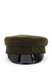 [관부가세포함][RUSLAN BAGINSKIY] (KPC007 W GREEN) FW20 여성  baker boy hat