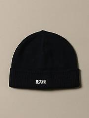 [관부가세포함][휴고보스] (J01111 849)  Winter 20 여성  cotton hat with logo