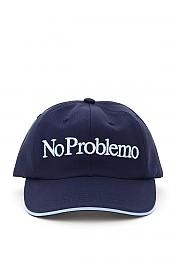 [관부가세포함][에리즈] (FRAR90004 NVY) FW20 여성 야구모자 no problemo embroidery