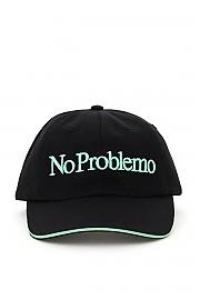[관부가세포함][에리즈] (FRAR90004 BLK) FW20 여성 야구모자 no problemo embroidery