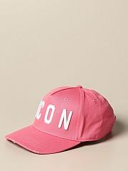[관부가세포함][디스퀘어드2] (BCM4001 05C00001 M1972)  Winter 20 여성 야구모자 with icon logo