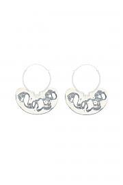 [관부가세포함][파투] (JW0121000901S 901S) FW20 여성  iconic small hoop 귀걸이