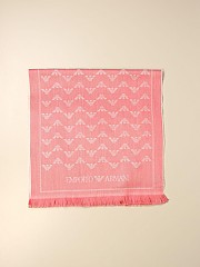 [관부가세포함][아르마니] (635003 9A300 21073)  Winter 20 여성 emporio  wool스카프 with logo