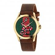 [관부가세포함][구찌] (YA1264012) CARRYOVER 여성 le march&eacute des merveilles watch case 38mm with snake pattern -