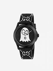 [관부가세포함][구찌] (YA1264018) CARRYOVER 여성 g-timeless rubber watch case 38 mm with monogram and ghost -