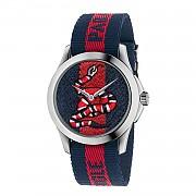 [관부가세포함][구찌] (YA126493) CARRYOVER 여성 le march&eacute des merveilles watch case 38mm with web snake pattern -