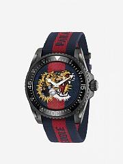 [관부가세포함][구찌] (YA136215) CARRYOVER 여성 le march&eacute des merveilles watch 38mm case and web angry cat pattern -