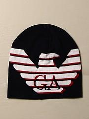 [관부가세포함][아르마니] (404611 0A464 00035)  Winter 20 여성 emporio  wool hat with big logo