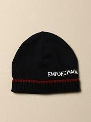 [관부가세포함][아르마니] (404129 0A435 00535)  Winter 20 여성 emporio  hat in wool with logo