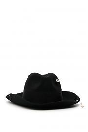 [관부가세포함][RUSLAN BAGINSKIY] (FDR033 PRS BLACK) SS20 여성  piercing fedora hat