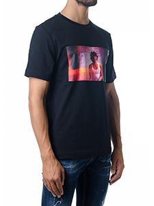[캘빈클라인] (J30J307865 DIGITAL PHOTO099_R) 남성 반팔 티셔츠XL_빠른배송